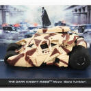 Automovil Batman knight rise (Bane tumbler) Englemoos