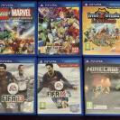 Pack X5 Ps vita | Dragon Ball Z, LEGO, Invizimals, Fifa 13, Fifa 14, MineCRAFT