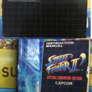 * STREET FIGHTER 2 SPECIAL CHAMPION EDITION * Megadrive Completo