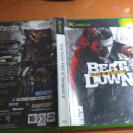 BEAT DOWN FISTS OF VENGEANCE XBOX COMPLETO