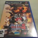 METAL SLUG 4 PS2 PLAYSTATION 2 PAL ESPAÑA COMPLETO COMO NUEVO