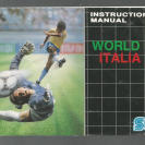 Manual World Cup Italia 90 de Mega Drive (PAL)/