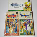 Pack 3 juegos Super Family Computer (FinalFantasy V & DragonQuest V,VI)