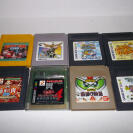GAMEBOY LOTE 8 JUEGOS SUPER DONKEY KONG, Hiryu no Ken, Monster Farm, ETC GAME BOY