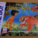 MANUAL ORIGINAL EL LIBRO DE LA SELVA NINTENDO GB