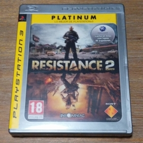 Resistance 2 Platinum PS3 ESP (Playstation 3)