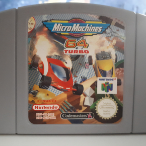 juego micormachines 64 turbo