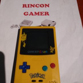 Consola game boy color edicion pokemon