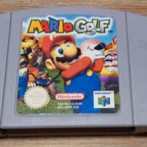 Mario Golf N64 Pal esp