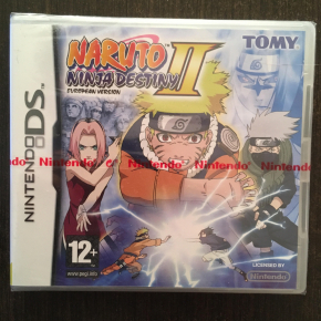 Naruto Ninja destiny II para Nintendo DS ESP, Sellado