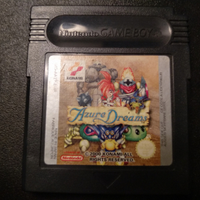 AZURE DREAMS KONAMI 2000 PAL GAME BOY GAMEBOY COLOR GBC