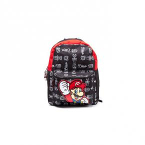 Nintendo Mochila Black Super Mario
