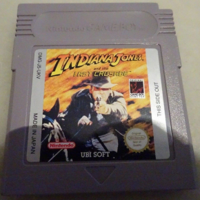 INDIANA JONES AND THE LAST CRUSADE PAL UKV NINTENDO GAMEBOY GB