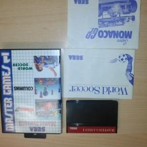 MASTER GAMES 1  Sega Master System
