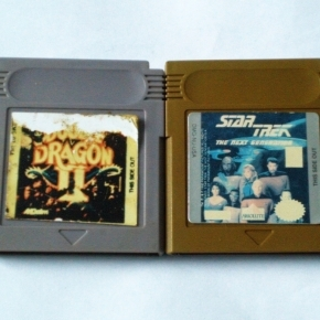 GAMEBOY STAR TREK Y DOUBLE DRAGON II