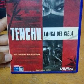 TENCHU A IRA DEL CIELO PS2