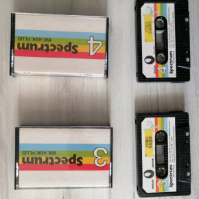 Sinclair ZX Spectrum Video Basic 1-2-3-4