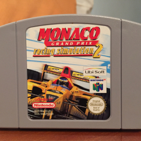 Monaco Grand Prix Racing Simulation 2 Nintendo 64 N64