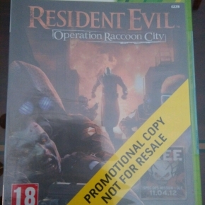 Resident Evil Operation Raccoon City. PRECINTADO