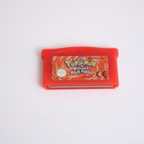 Pokemon rojo fuego Pal esp