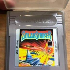 Solar striker game boy