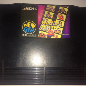 JUEGO WORLD HEROES 2 NEO GEO AES