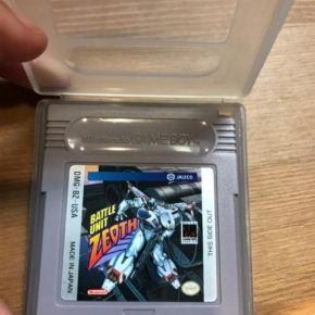 Battle unit zeoth game boy