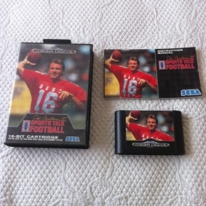 JUEGO MEGADRIVE JOE MONTANA 2 SPORTS TALK FOOTBALL