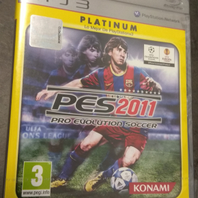 PES 2011 PAL ESP PS3 Nuevo