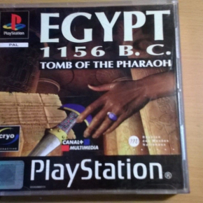 EGYPT 1156 B.C. TOMB OF THE PHARAOH PSX PS1 PLAYSTATION PAL ESPAÑA MULTI VGC