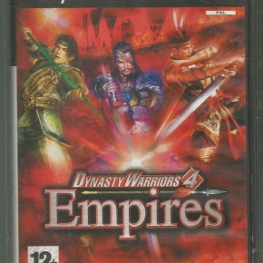 Dynasty Warriors 4 Empires (PAL)*