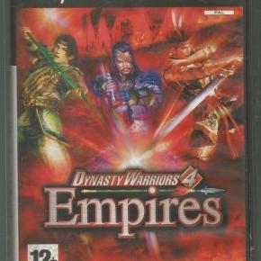 Dynasty Warriors 4 Empires (PAL)*