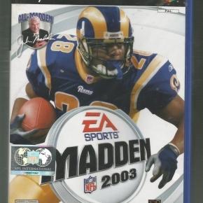 Madden NFL 2003 (PAL)*