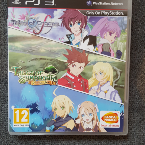 PACK: TALES OF GRACES F Y TALES OF SYMPHONIA CHRONICLES