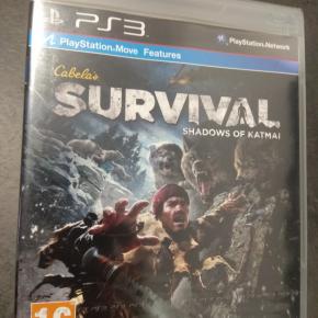 Survival Shadows of katmai PAL ESP PS3 Nuevo