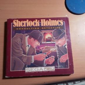 SHERLOCK HOLMES MEGA CD SEGA CD NTSC-U USA