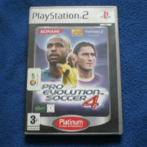 PS2 PRO EVOLUTION SOCCER 4 EN ESPAÑOL PAL