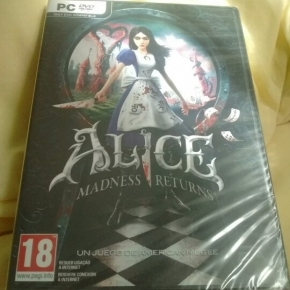 Alice madness returns american mcgee juego nuevo español new sealed