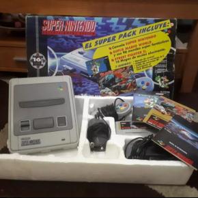 Super Nintendo +2 juegos