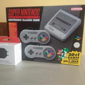 SNES Mini Classic Nuevo