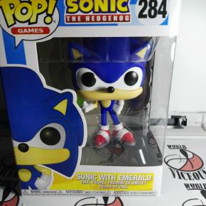 Funko Pop! Sonic con la Esmeralda (Sonic the Hedgehog) (284)/