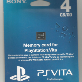 Memory card de 4 Gb para PS Vita!