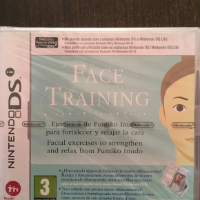 Face Training para nintendo DSi sellado