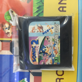 Sonic the Hedgehog 2 sonic tails para Game gear solo cartucho.