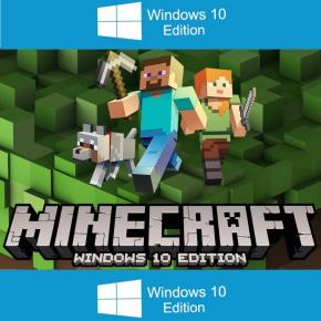 Minecraft Windows 10 edition PC Serial Key original digital download REGION FREE