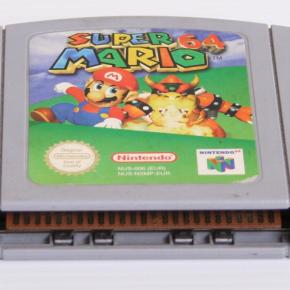Super Mario Nintendo 64 Pal