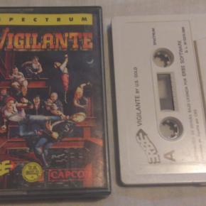 VIGILANTE Spectrum 48K cassette