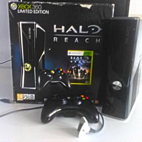 Xbox 360 Slim 250Gb + Lote 21 Juegos Xbox 360