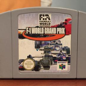 F-1 World Grand Prix Nintendo 64 N64
