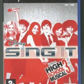 Disney Sing It: High School Musical 3: Fin de Curso (PAL)*